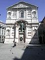Il monumento ad Alessandro Manzoni in piazza San Fedele.JPG