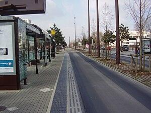 Nantes Busway - Ile De Nantes station