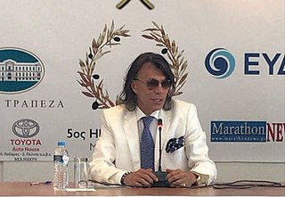 Ilias Psinakis Greek politician, manager, and television personality