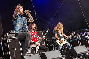 Illdisposed beim Metal Frenzy Festival 2017 in Gardelegen