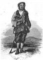 Illustrirte Zeitung (1843) 23 357 1 Ein Briefbote aus Kandahar.png