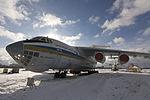 Ilushin IL-76 at State Aviation Museum, Kyiv, Ukraine.jpg