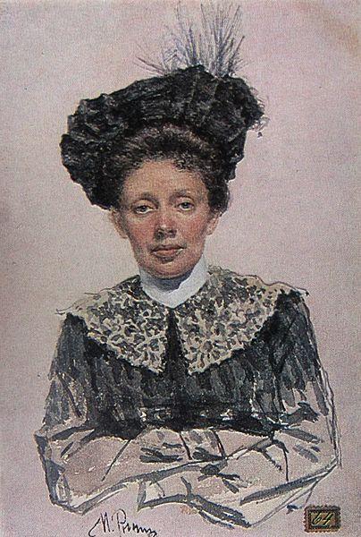 File:Ilya Repin. Portrait of a Woman (Art Museum of Georgia).jpg