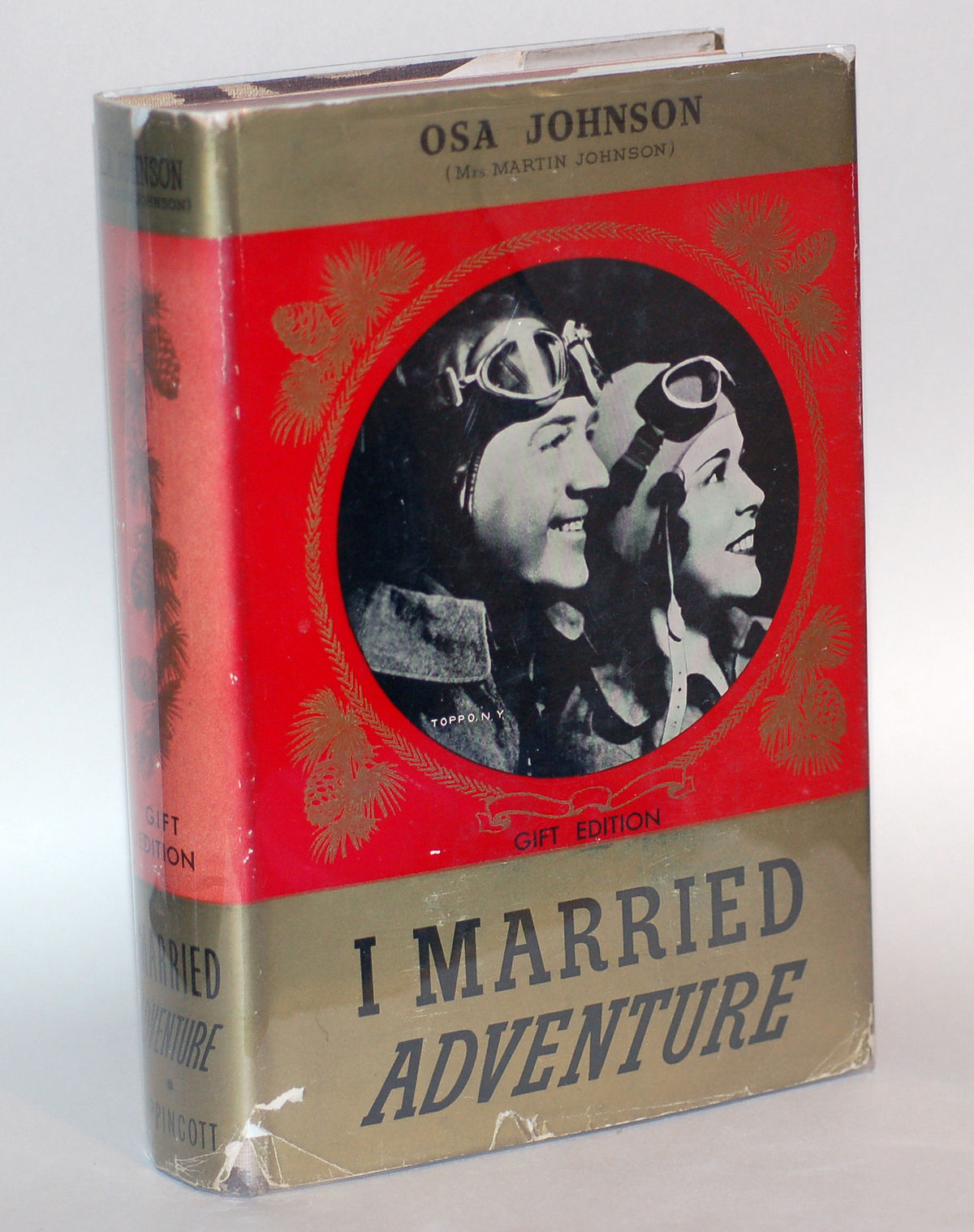 Book Cover Pictures S : Martin and osa johnson wikipedia