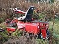 In the Rough, Lawn Mower left to Rot - geograph.org.uk - 1123495.jpg