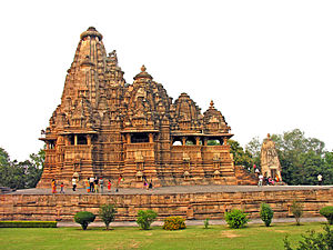 Vishvanatha Temple, Khajuraho - Image: India 5749 Visvanatha Temple Flickr archer 10 (Dennis)