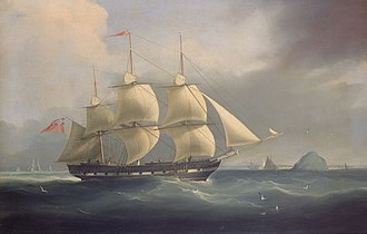 Battle of Chuenpi - Thomas Coutts in 1836