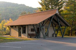 Indian Mountain State Park - Indian Mountain State Park visitor center