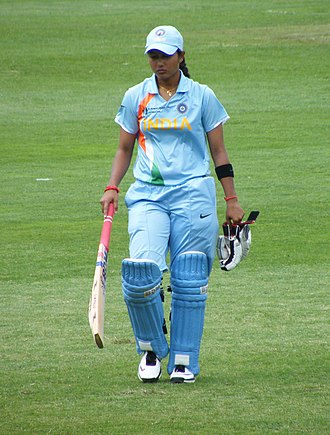 India women's national cricket team - Indian Batswoman at Cricket Worlds Cup 2010