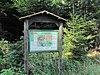 Infopanel of Forest educational trail of Chaloupky castle in Kněžice, Jihlava District.JPG