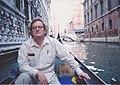 Infrogmation in Venice 1993 Gondola.jpg