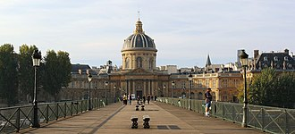 Institut de France - The Institut de France viewed from the pont des Arts