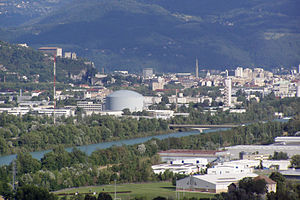 Neutron - Institut Laue–Langevin (ILL) in Grenoble, France – a major neutron research facility.