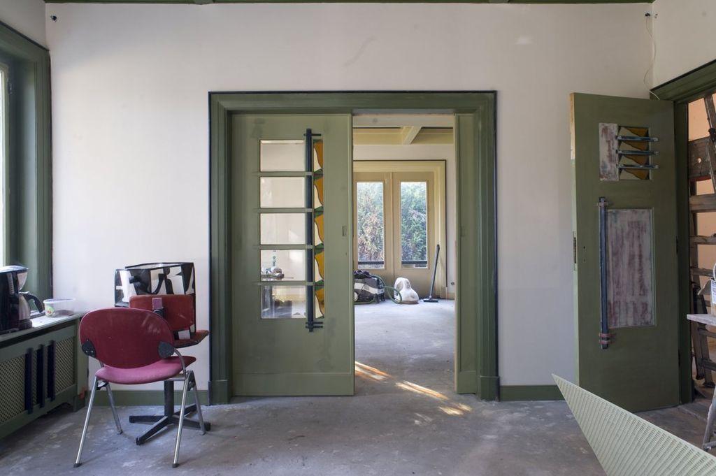 File interieur kamer en suite tijdens verbouwing for Kamer interieur