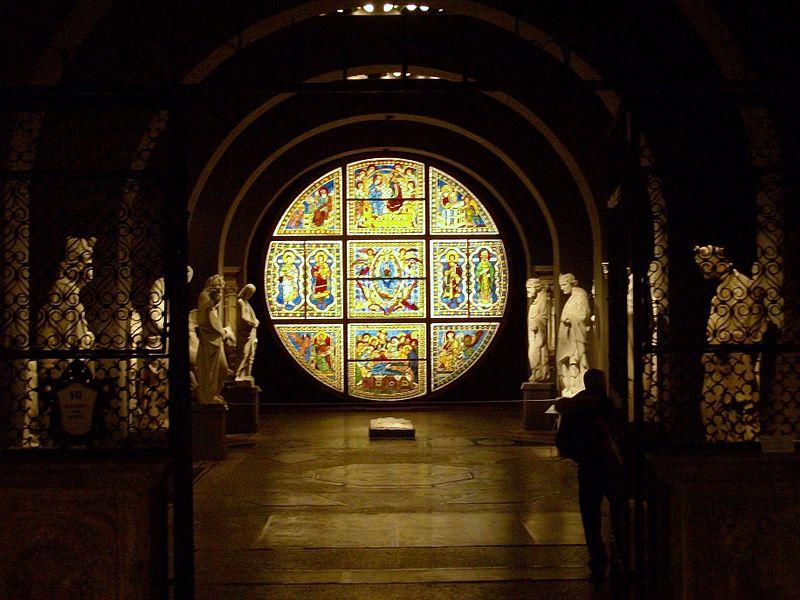 File:Interior del Museo dell'Opera del Duomo de Siena.JPG