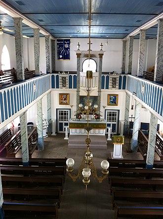 Serbin, Texas - Interior of St. Paul Lutheran