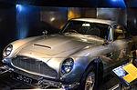 International Spy Museum - Exquisitely Evil - Bond's Aston Martin DB5 (25858881720).jpg