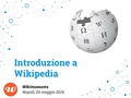 Introduzione a Wikipedia. Wikimuseums, Napoli 05052016.pdf