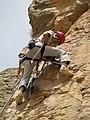 Iranian Climber-Drilling Wall.JPG