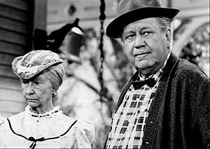 "Edgar Buchanan - A ""crossover"" episode: Irene Ryan as ""Granny"" from The Beverly Hillbillies and Edgar Buchanan as ""Uncle Joe"" on Petticoat Junction (1968)"