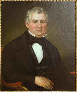 Isaac Babbitt (1799-1862) by Bass Otis, 1849, oil on canvas - Old Colony History Museum - Taunton, Massachusetts - DSC03743.jpg