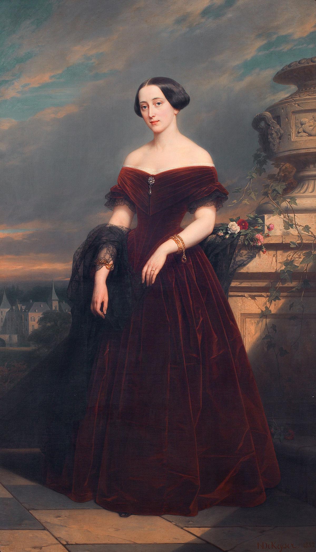 Isabelle Antoinette Barones Sloet van Toutenburg, by Nicaise De Keyser.jpg