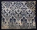Italia, tessuto per arredo domestico in tela lanciata in lino e lana, xvi secolo.jpg