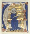 Italy, 13th century - Historiated Initial (A) Excised from a Bible - 1954.131.7 - Cleveland Museum of Art.tif