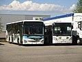 Iveco Crossway LE n°42 (Ondéa) & Irisbus Citelis 12 n°2042 (Stac) - Voglans, 2017.jpg
