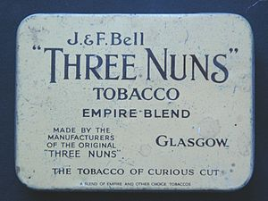Imperial Brands - Image: J&F Bell Three Nuns 2oz