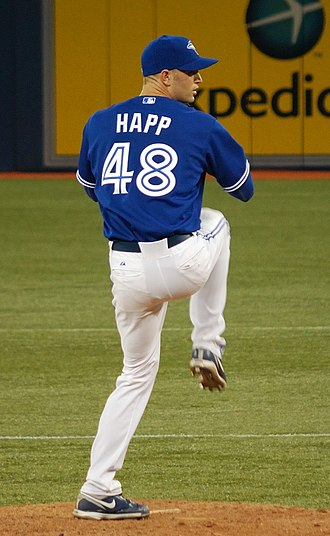 J. A. Happ - Happ in July 2012