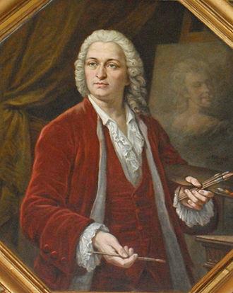 Jean-Baptiste van Loo - Portrait of Jean-Baptiste van Loo