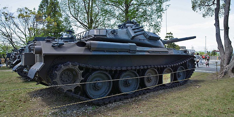File:JGSDF Type 74 , 陸上自衛隊 74式戦車 - panoramio (1).jpg