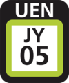 JR JY-05 station number.png