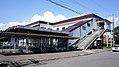 JR Muroran-Main-Line Horobetsu Station East Exit.jpg
