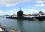 JS Hakuryu (SS-503) arrives at Joint Base Pearl Harbor-Hickam for a scheduled port visit, -6 Feb. 2013 (DB801-004).jpg