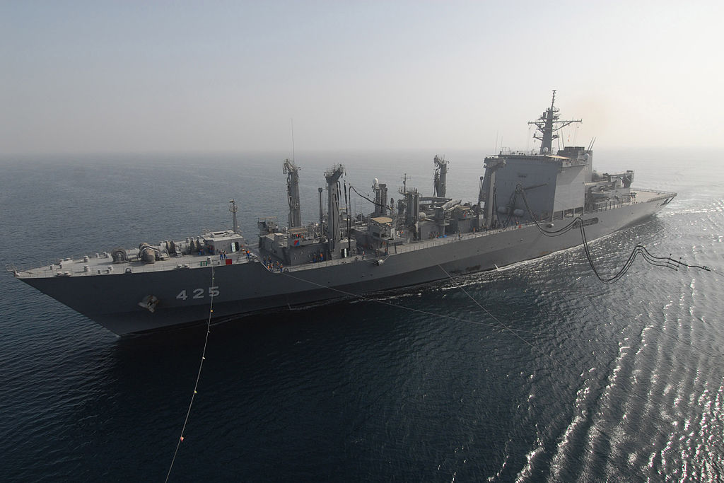 JS Mashū (AOE-425) in the Persian Gulf -22 Sep. 2006 a.jpg