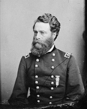 Battle of Old River Lake - General Joseph A. Mower