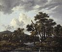 Jacob van Ruisdael - Landscape with birches and a stream.jpg