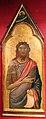 Jacopo del casentino, san giovanni battista e profeta nella cuspide, 1330-35 ca., 01.JPG