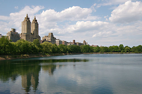 The Jacqueline Kennedy Onassis Reservoir, in Central Park, New York City