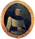De Jakob Joseph Matthys, Porträ uf de Graabtafle, hütt im Bäihuus vo Wolferschiesse