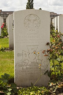 James Anson Otho Brooke Recipient of the Victoria Cross