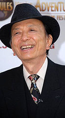 James Hong podczas Jules Verne Adventure Film Special Awards Presentation, rok 2007.