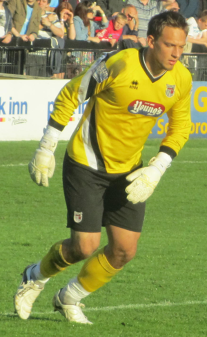 James McKeown - McKeown playing for Grimsby Town in 2011