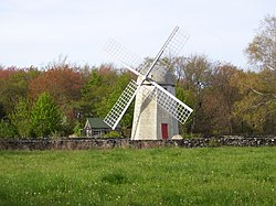Jamestown Windmill, built in 1787