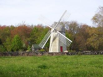 Jamestown, Rhode Island - Jamestown Windmill built in 1787