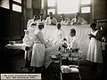Jan Schoemaker performing a surgical operation, 1922. Photog Wellcome V0029747.jpg