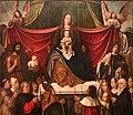 Jan provost, trittico di nostra signora della misericordia, 1512-15, 05.jpg