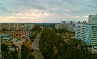 Yartsevo, Smolensk Oblast - Metallurgov Avenue in Yartsevo
